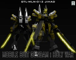 Gundam Holy War -Jihad by ssejllenrad2