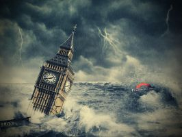 flood in london. by EstherSephora