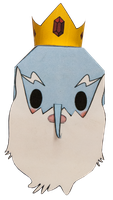 Ice King by PiercePapercraft