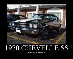 '70 chevelle poster by jedijaffy14