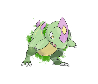 FKMN Commission - Grass starter by DevilDman