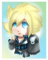 ff7: callob chibi cloud by DarkLitria