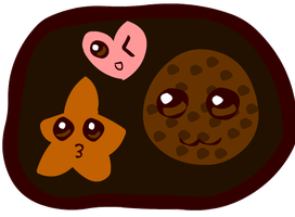 Kawaii Cookies Tray by Faery-Rainbow
