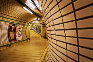 The Tube - London, England by RichardNohs