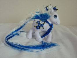 Custom my little pony blue bloom 2 by thebluemaiden