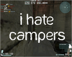 I hate Campers by iTzApy