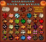 Halloween   Pack 150 STYLES Ps by Photos-Loutche