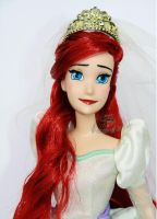 Disney Wedding Ariel Doll Repaint by claude-on-the-road