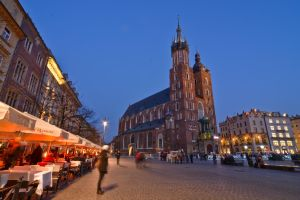 Mariacki Church, Cracow in Poland by mysterious-one