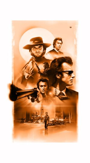 Clint eastwood poster by RobertoDS
