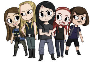 little dethklok by B4CKBONE