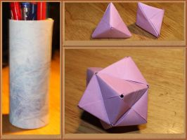 Origami/paperwork some small projects by Almath3a