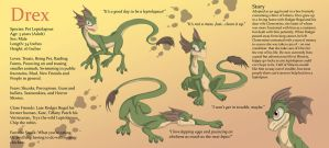 Drex Reference Sheet by Ferroth