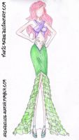 Ariel-High Fashion/Prom by Pinkie-Mads