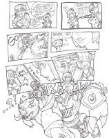 LoL Comic - Sejuani vs Riven [Read right to left] by Xfur