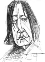 alan rickman by Jimmyct