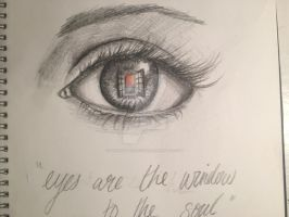 Eyes are the window to the soul by thewaddledoctor