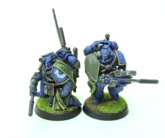 Ultramarines Recon Squad - Communications by jstncloud