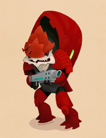 Mass Effect: Urdnot Wrex by WonderDookie
