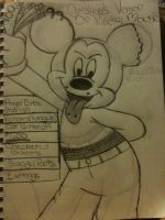 mickey mouse by Christina-MissIt-Ann