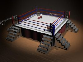 Boxing Ring by KyleKirkner