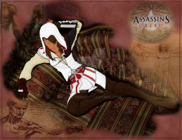 Assassin's Creed Girl by jamt1989