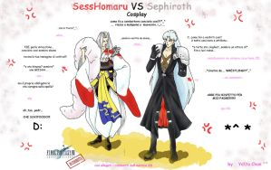 Sephiorth VS Sesshomaru by YattaChan