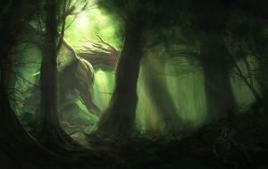 Forest Dragon by kendmd