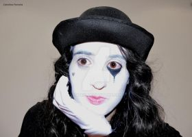 What a mime by Catiiiii