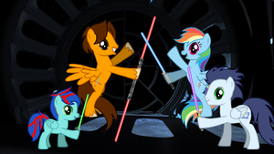 MLP: May the 4th Be With You 2015 by DarthWill3