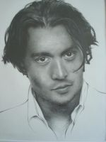 Johnny Depp (Realism Drawing) by MasteringAnime