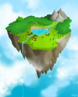Floating Island by fleeex