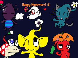 Happy Halloween :3 by wwiggles