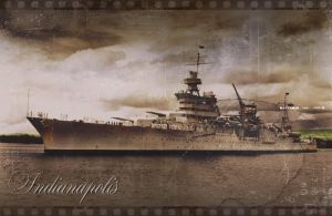 Grey Days ~ USS Indianapolis by RMS-OLYMPIC