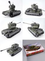 Russia KV(Big Turret)(122) 02 by ZCY333