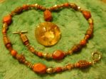 Helios Stone Necklace 3 by Windthin