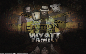 The Wyatt Family Wallpaper by JrbDesign