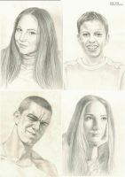 Portraits by Andreevsky