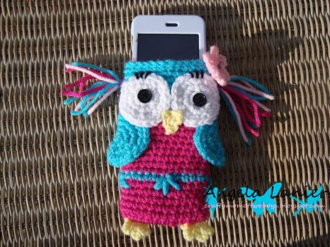 Owl iPod Cozy by Angie85