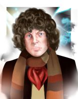 Tom Baker by DarthTerry