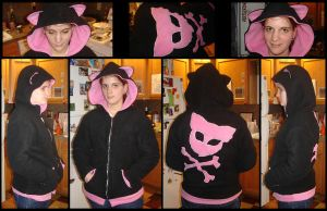 Kitty Hoodie by invader-gir