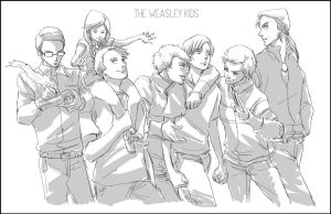 The Weasley Kids by Maseiya