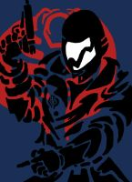 Cobra commander by AtomicWarpin