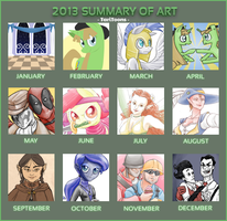 Summary of Art 2013 by TariToons