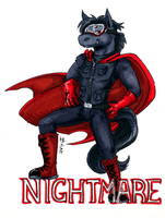 nightmare badge by not-fun