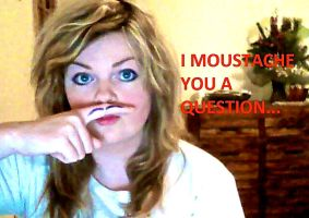 I like moustaches and cheesy jokes by MissLadyLard