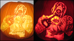 Borderlands 2 Pumpkin by SmallChild3