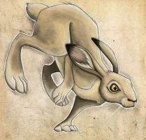 The Fabled Hare by Toonfused