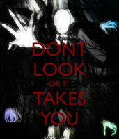 Don't Look Or It Takes You by LeopardSixteen