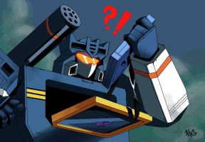 all hail megatron Soundwave by Uwall